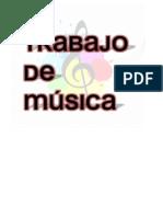 Trabajo Música