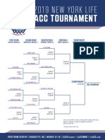 ACC Tournament Bracket