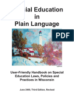 special education in plain language