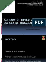 SISTEMAS DE BOMBEO Y CALCULO DE INSTALACIONES