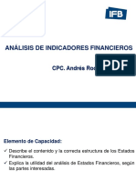 Analisis de Indicadores Financieros