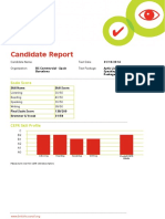 Aptis Test Report Sample