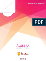 6to grado de primaria - ÁLGEBRA Libro de Teoría