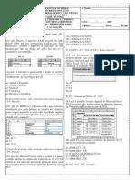 Atividades sobre Excel