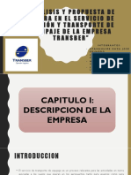 Análisis y Propuesta de Mejora en El Servicio de Gestión y Transporte de Equipaje de La Empresa Transber