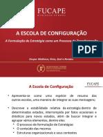 A ESCOLA DE ESTRATÉGIA DA CONFIGURAÇÃO