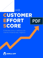 Guia Definitivo Customer Effort Score