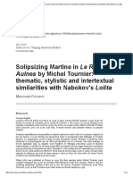 Solipsizing Martine in Le Roi des Aulnes by Michel Tournier_ thematic, stylistic and intertextual similarities with Nabokov's Lolita.pdf