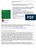 Multilingualism and Assimilationism in Australia's Literacy-related