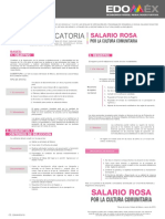 Convocatoria Salario Rosa 2019