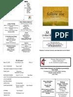 St Andrews Bulletin 031019
