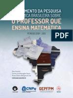 MAPEAMENTO DA PESQUISA ACADÊMICA BRASILEIRA SOBRE O PROFESSOR QUE ENSINA MATEMÁTICA
