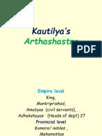 Kautilya's Ardhasastra