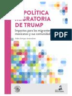 La política Migratoria de Trump Impactos para los migrantes mexicanos y sus comunidades