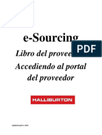 SAP e-Sourcing Supplier Playbook (Espanol) HALLIBURTON.pdf