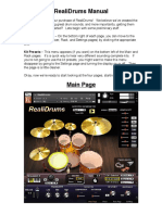 RealiDrums Manual Completo