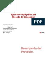 Ejecucion Topografica Del Mercado de Concepcion