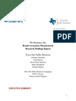 Texas Star PR Research Report