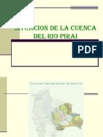 Situacion de La Cuenca Del Rio Pirai