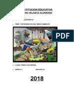 Conservacion Del Medio Ambiente Monografia