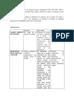 Cuadro Comparativo Sobre Las Normas Técnicas Colombianas