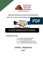 Plan de Imagen Institucional