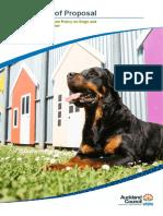 06032019 Dog SOP Policy Bylaw