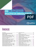 Os 35 Partidos Políticos Brasileiros