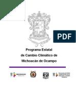 Programa Estatal  Cambio Climático versión para impresión