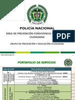 Portafolios de Servicio Prevencion DISEC