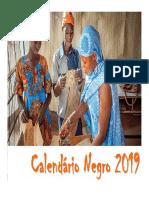 Calendário Negro - Março 2019