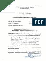 Creative Sentencing Order Syncrude 2015-019
