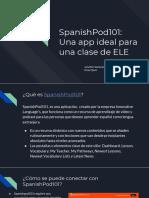 spanishpod 101  una app ideal para una clase de ele