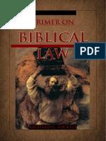 39246508 Biblical Law a Primer