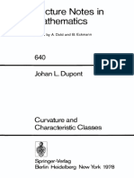 Dupont J. L. - Curvature and Characteristic Classes.pdf