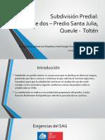 Subdivisión Predial