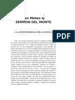 17 Mateos J., El Sermon Del M
