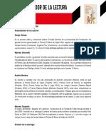 Ficha Del Mediador Cuatro Travesias Relatos de Jovenes Migrantes