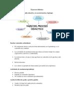 Proceso Didactico