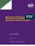Doc 9328 Manual de Metodos Para La Observacion y La ion Del Rvr