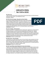 Circuito Peru Lini (1)