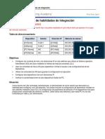 2.4.1.2 Packet Tracer - Skills Integration Challenge Instructions IG