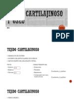 Tejido Cartilajinoso y Oseo