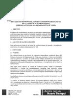 Declaracion de Propósito, Autoridad y Responsabilidad de La Unidad de Auditoría Interna