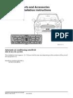 Automatic Air Conditioning Retrofit Kit R50 Petrol