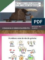 Afetos-Cidadania e Desenvolvimento