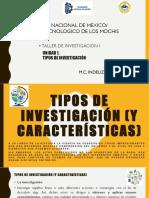 Unidad 1 Tipos de Investigacion