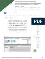 Comunicación Logo S7-1200 en proyecto TIA Portal y LOGO SoftV8 » tecnoplc.pdf