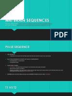Mri Brain Sequences