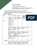 Rubrica de Evaluación Del Portafolio